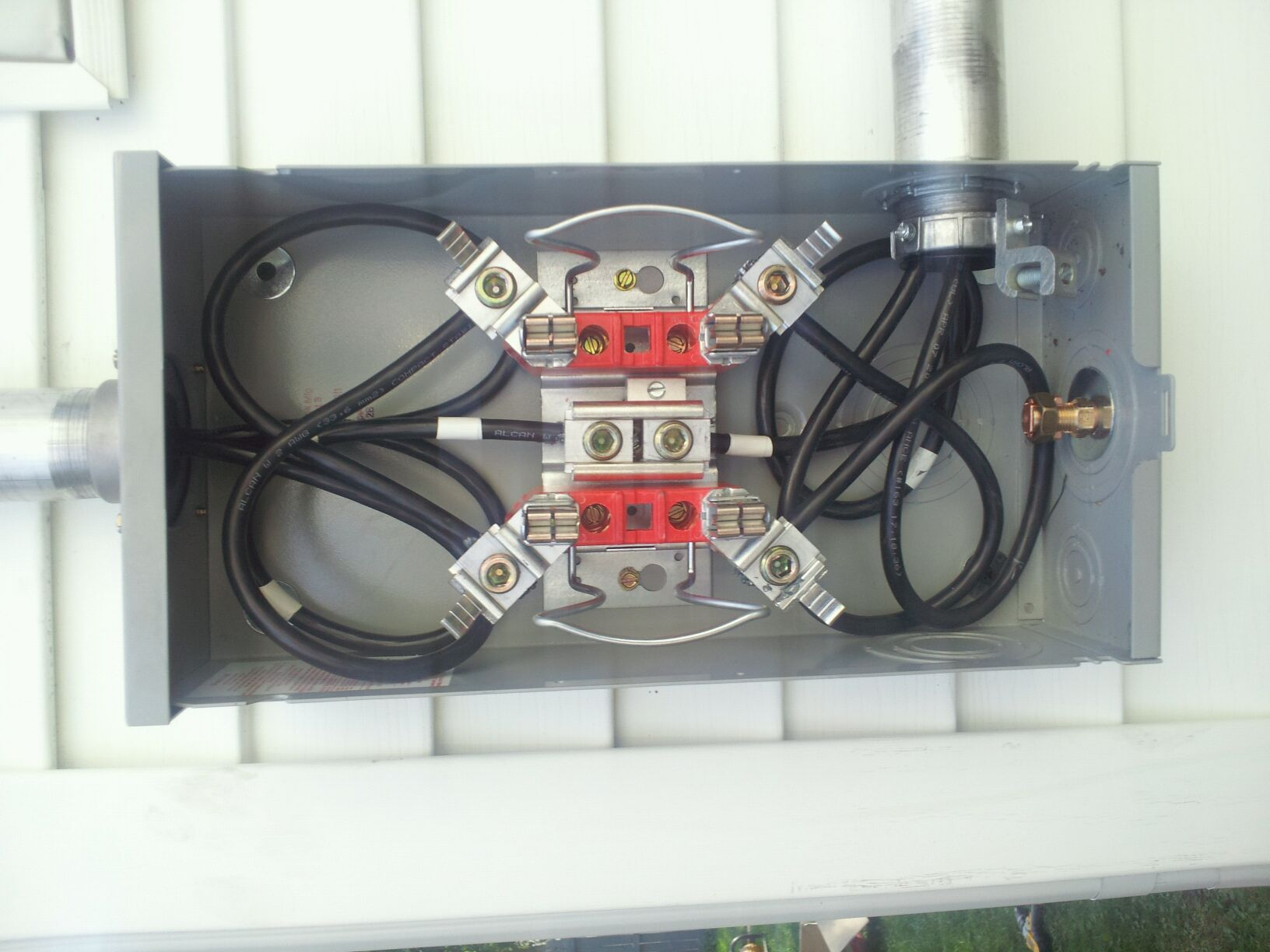 House Power Meter Box Wiring Free Diagram For You Socket 28 Images Electric Installation Base